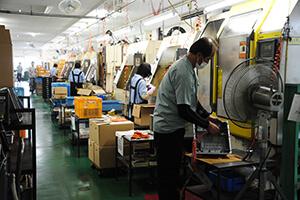 工場内部の写真